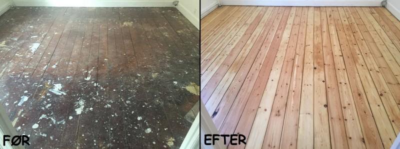 Giv dit gulv fornyet liv med en professionel gulvafslibning