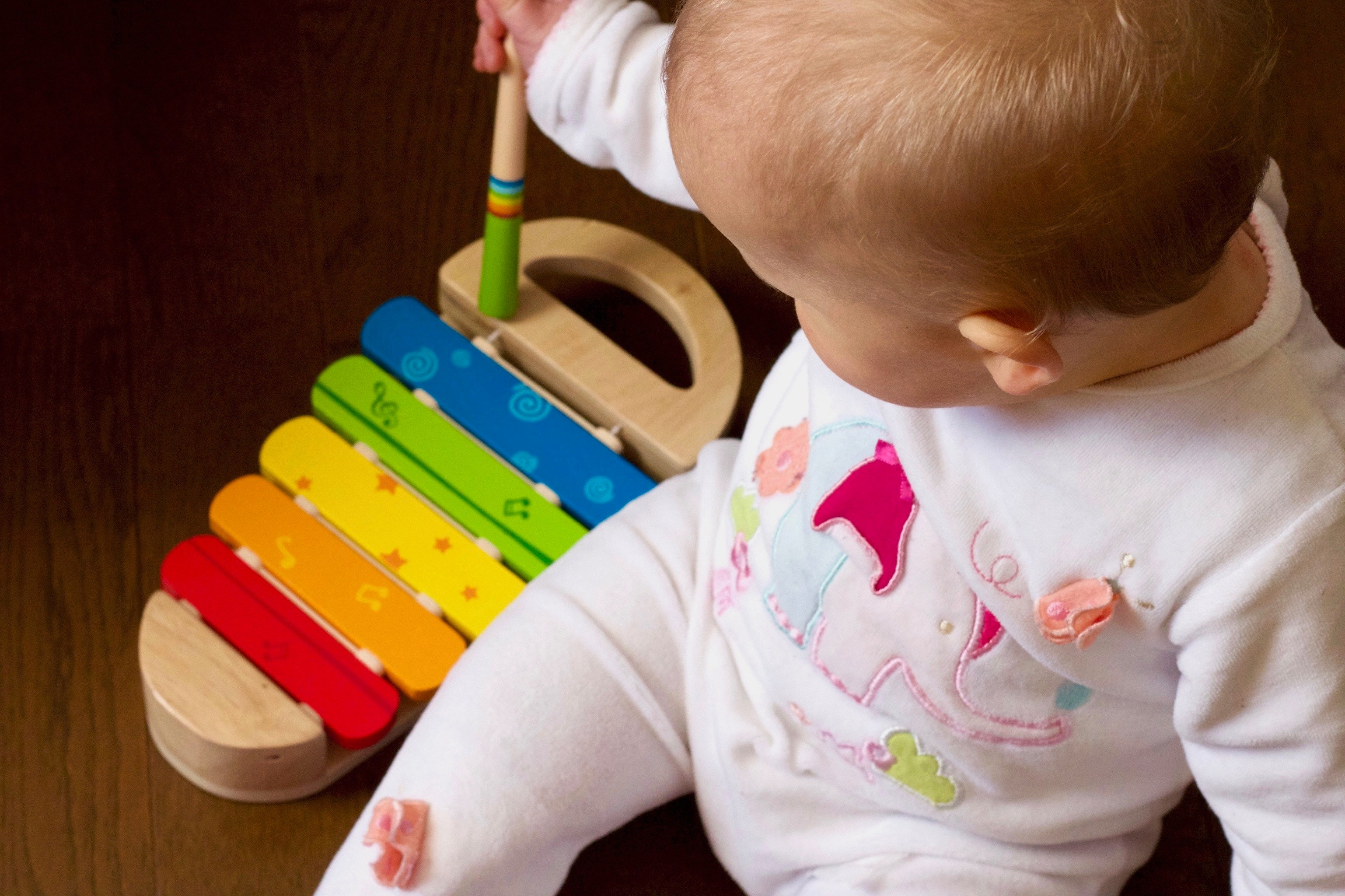 Babyudstyr til kreativ leg