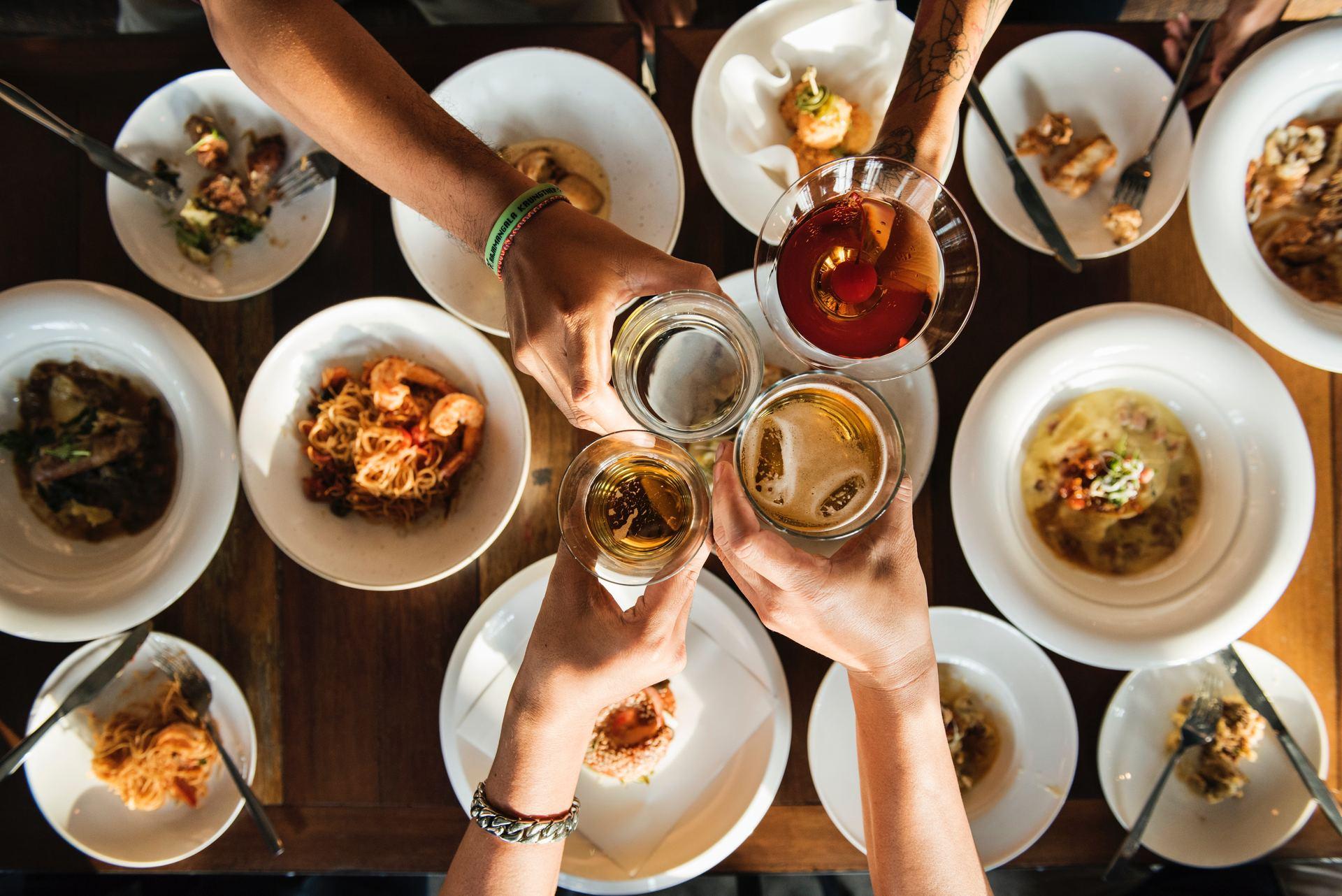 Hold den perfekte event med mad udefra